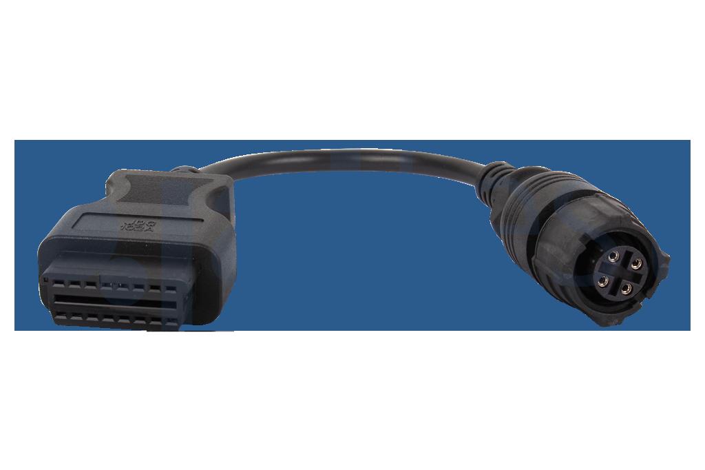 REF:JDC102a Haldex Диагностичен модулен кабел за ABS на ремаркета