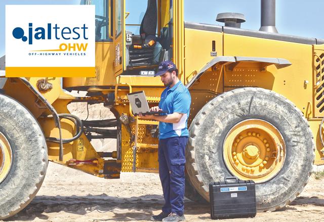 Диагностичен комплект за строителна и специализирана техника Jaltest OHW