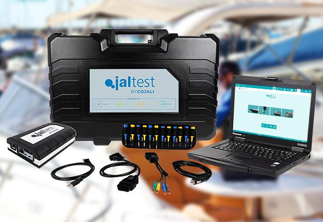 Диагностична апаратура Jaltest Marine за плавателни съдове
