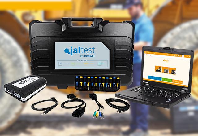 Диагностична апаратура Jaltest OHW за специализирани и строителни машини