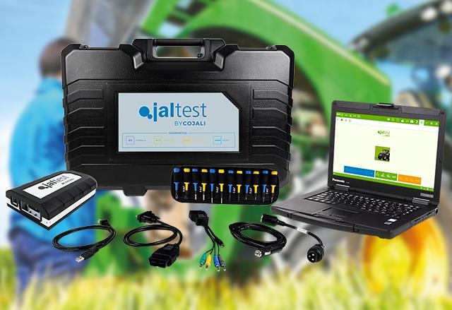 Диагностична апаратура Jaltest AGV за селскостопанска и земеделска техника