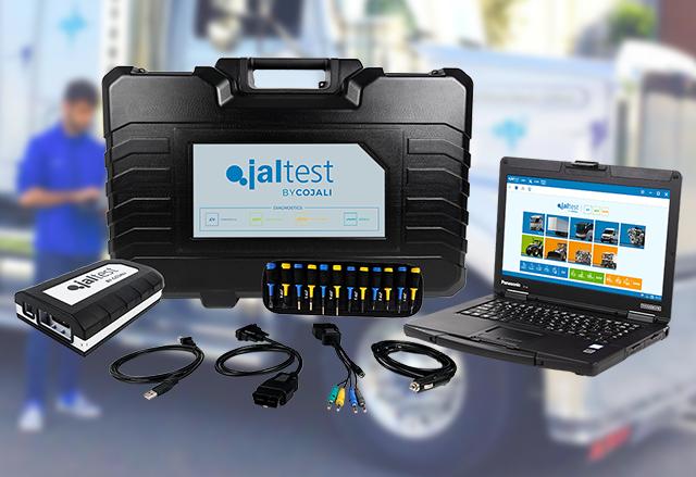 Диагностична апаратура Jaltest CV за комерсиални превозни средства