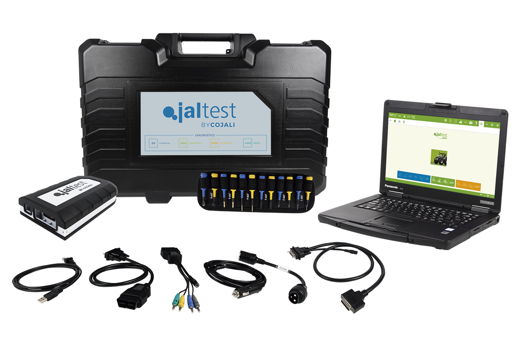 Комплект Jaltest за селскостопански машини