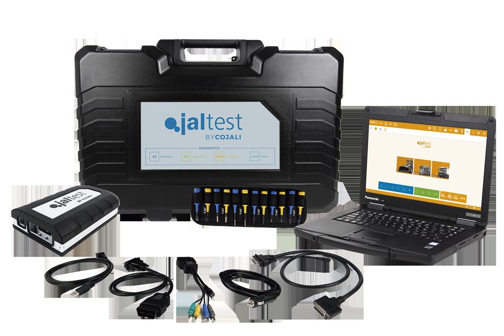 Комплект Jaltest за строителни машини